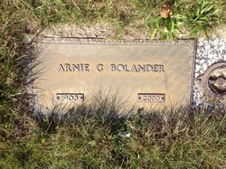 Arnie Geraldine <I>Oaks</I> Bolander