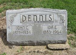 Ida Elizabeth <I>Davis</I> Dennis