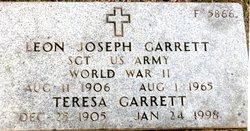 Leon Joseph Garrett