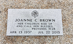 Joanne <I>Christian</I> Brown