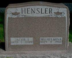 "Wilhelmina ""Minnie"" <I>Metzger</I> Hensler"