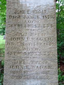 """John E """"Jack"""" Wagar"""