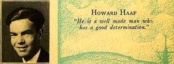 Sgt Howard S. Haaf