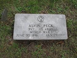 PVT Alvin West Peck