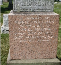 Minnie <I>Williams</I> Morrow