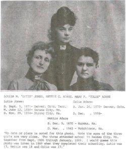 Mary Francis Colien <I>Adair</I> Morgan