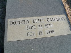 Dorothy <I>Britt</I> Gamaras