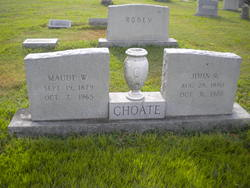 Annie Maude <I>Willingham</I> Choate