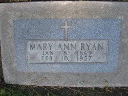 Mary A <I>Hoffman</I> Ryan