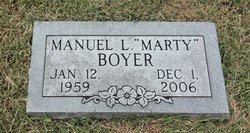 "Manuel Louis ""Marty"" Boyer"