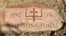 Christina Tomas