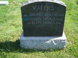 Lillian Eugenia <I>Thomas</I> Waters