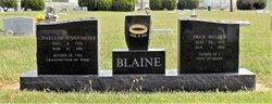 Fred B Blaine