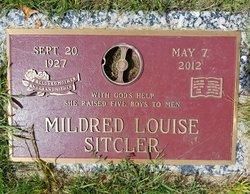 Mildred Louise <I>Shaneyfelt</I> Sitcler