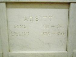 Anna E Adsitt
