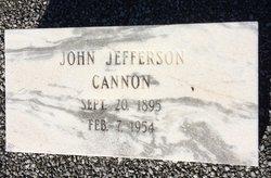 John Jefferson Cannon