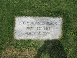 Kitty <I>Hogsed</I> Black