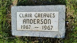 Clair Greaves Anderson
