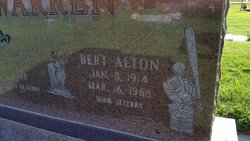 Bert Alton Warren