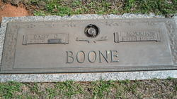 Daisy M <I>Culberson</I> Boone