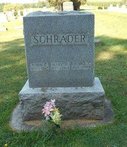 Mary H. <I>Myers</I> Schrader