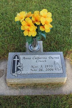 Anna Catherine <I>Durnil</I> Creech