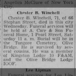 Chester Boice Winchell