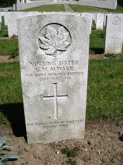 Nursing Sister Gladys Maude Mary Wake