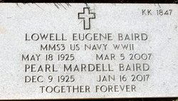 Lowell Eugene Baird