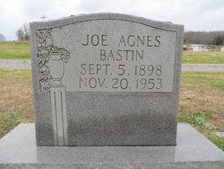 """Joe Agnes """"Jo"""" <I>Tucker</I> Bastin"""