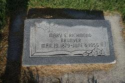 Mary Elizabeth <I>Richmond</I> Brunyer Marshall