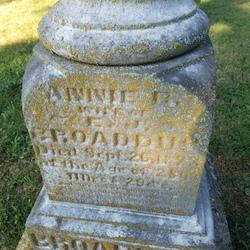 Annie B. <I>Chambers</I> Broaddus