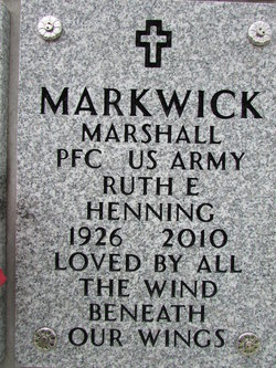 Ruth Elinore Markwick
