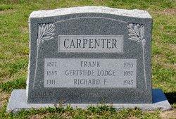 Gertrude <I>Lodge</I> Carpenter