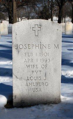 Josephine M Ahlberg
