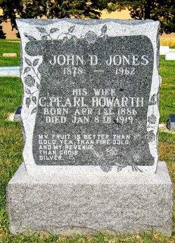 Clara Pearl <I>Howarth</I> Jones