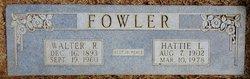 Walter R Fowler