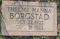Thelma Hanna Borgstad