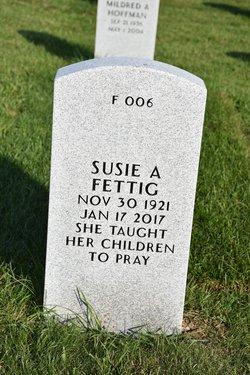 Susie A. <I>Kress</I> Fettig