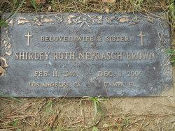 Shirley Ruth <I>Neprasch</I> Brown