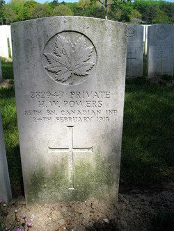 Private Henry William Powers
