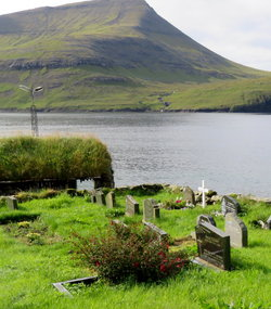 Bøur Church Cemetery