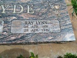 """Ray Lynn """"Lynn"""" Hyde"""