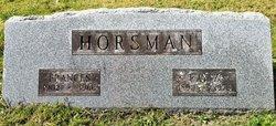 Frances <I>Throop</I> Horsman