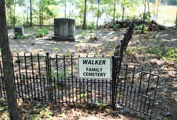 Warren Davis Walker Family Cemetery