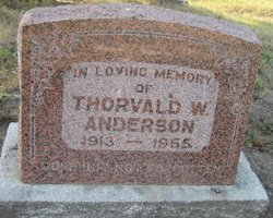 Thorvald W. Anderson