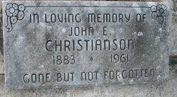 John E. Christianaon