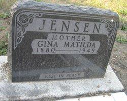 Gina Matilda <I>Pederson</I> Jensen