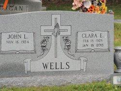 Clara Elizabeth <I>Casper</I> Wells