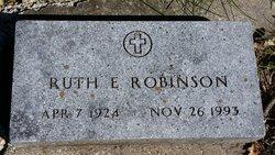 Ruth Elaine <I>Johnson</I> Robinson